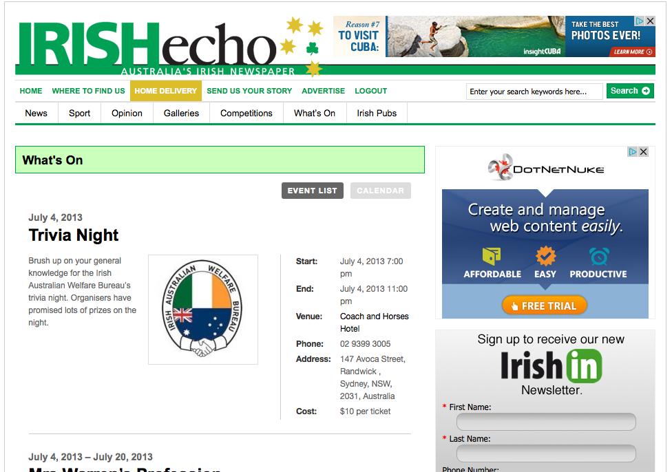 Irish Echo