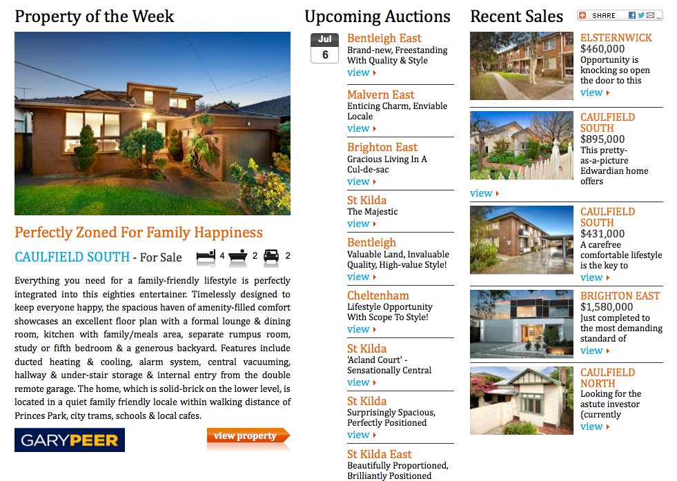Property Review Weekly