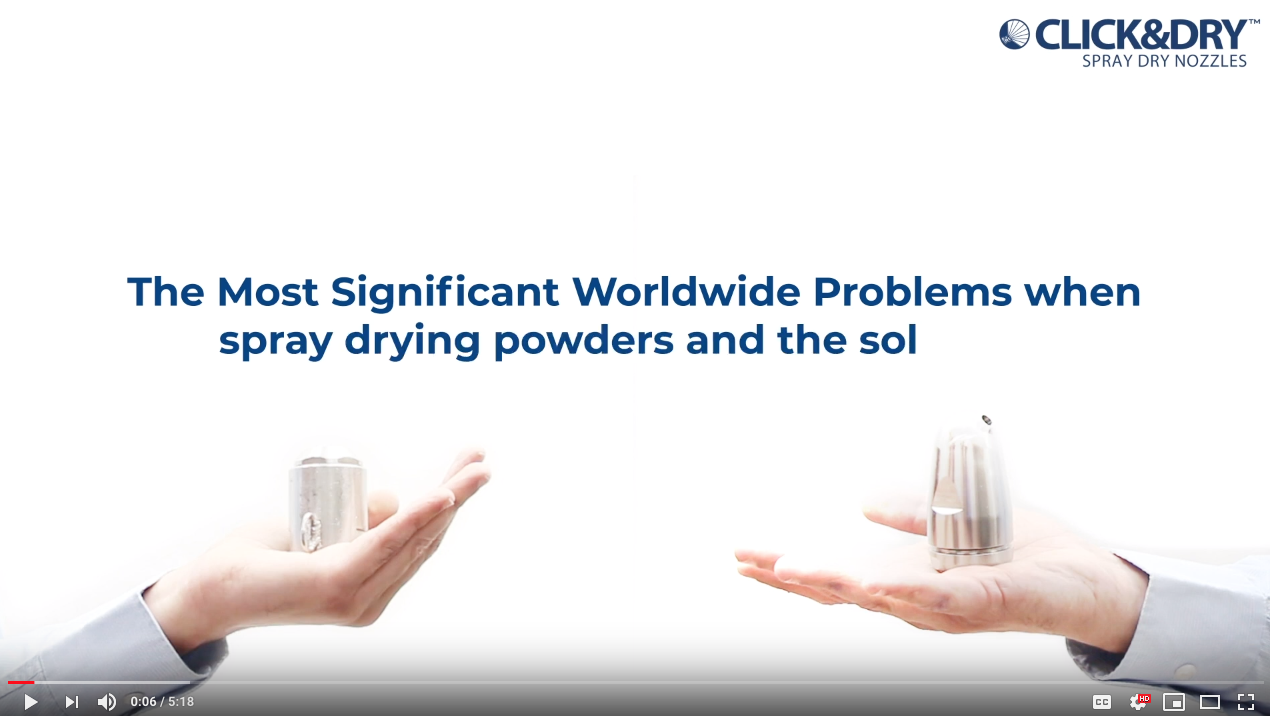 Spray Drying Powders - Problems & Solutions