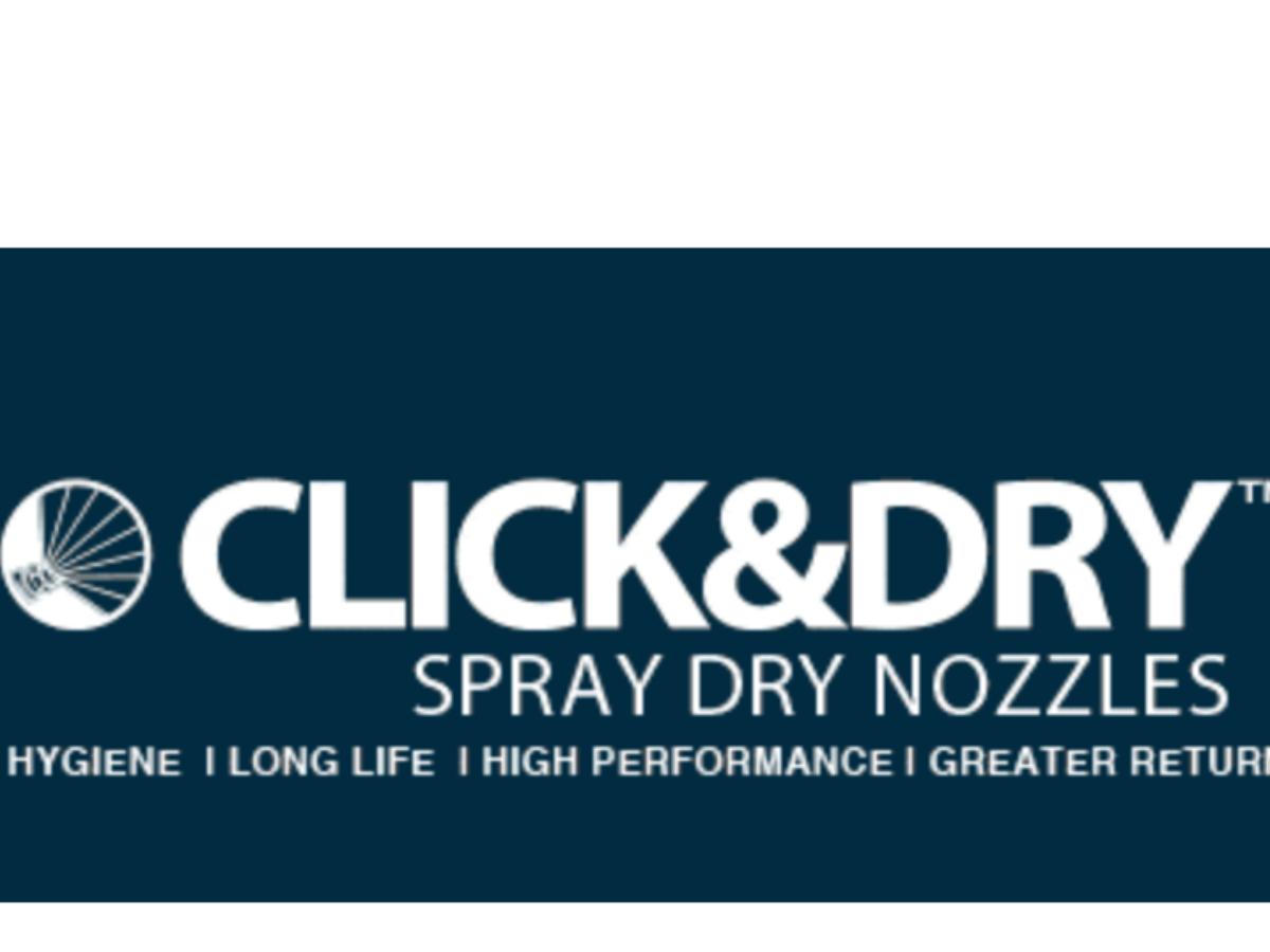 CLICK&DRY Spray Dry Nozzles