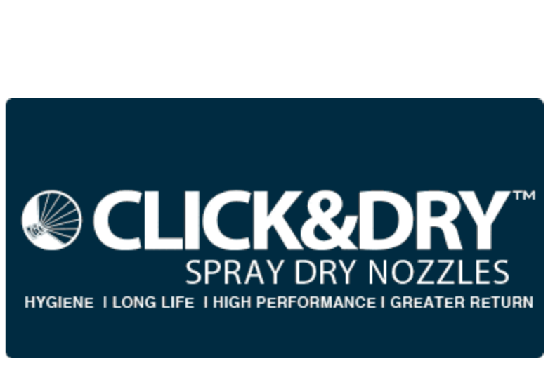 Click&Dry Spray Dry Nozzle