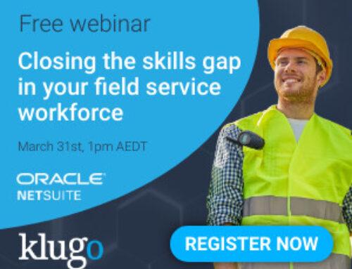 Webinar – Closing the skills gap in your field service workforce